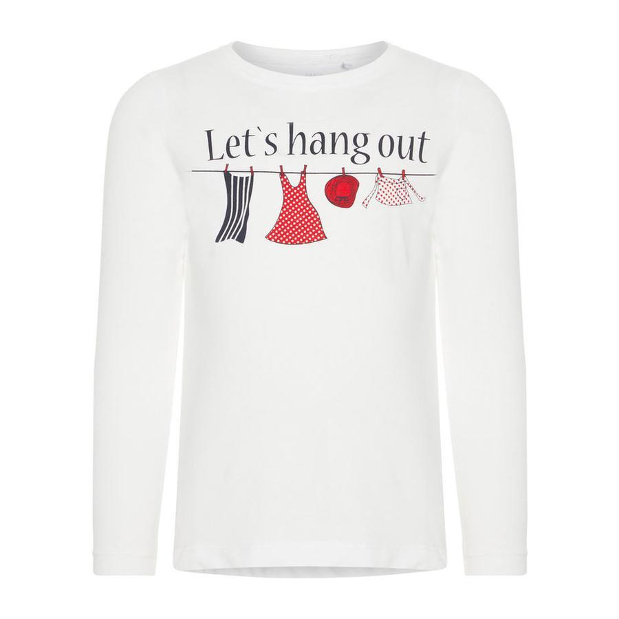 name it Koszula z długim rękawem Veen Bright White