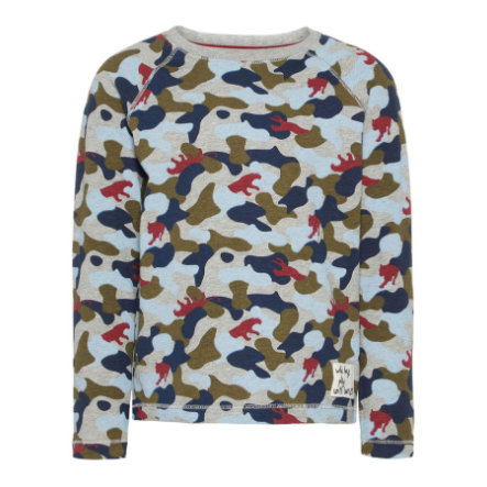 name it Boys Sweat-shirt Larry olivier brûlé