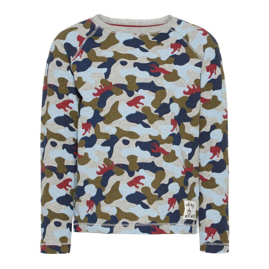 name it Sweatshirt til drenge Larry brændt olive
