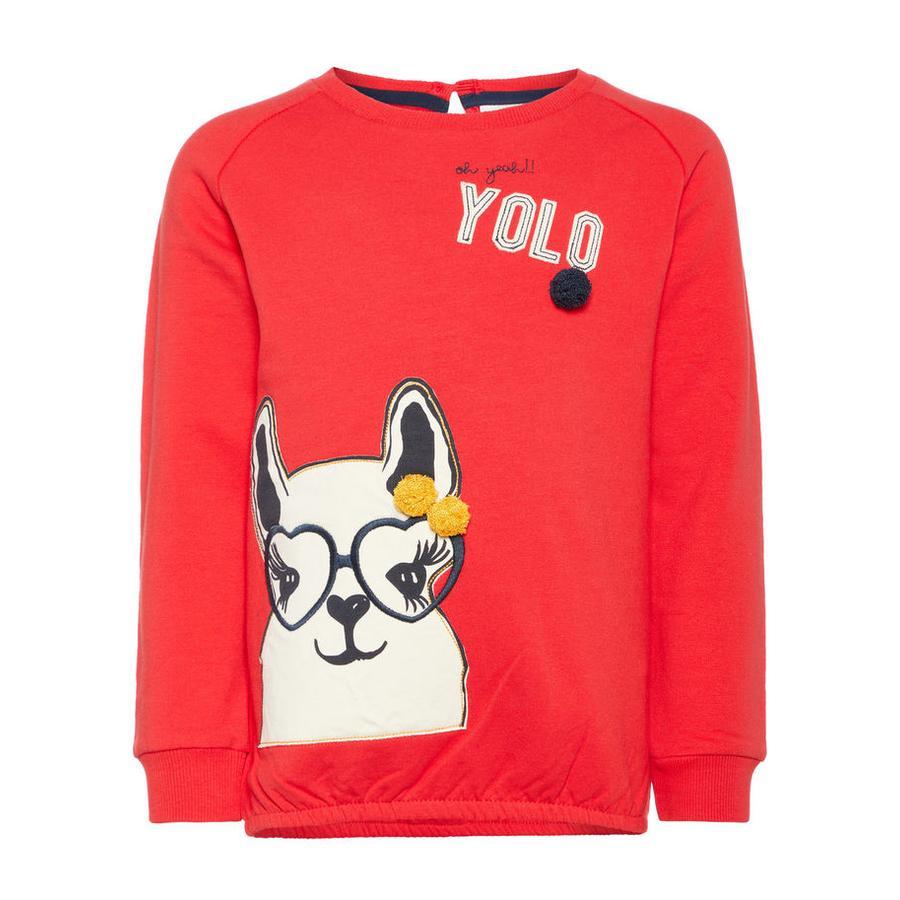 name it Girl s Sweatshirt Labina rouge vif
