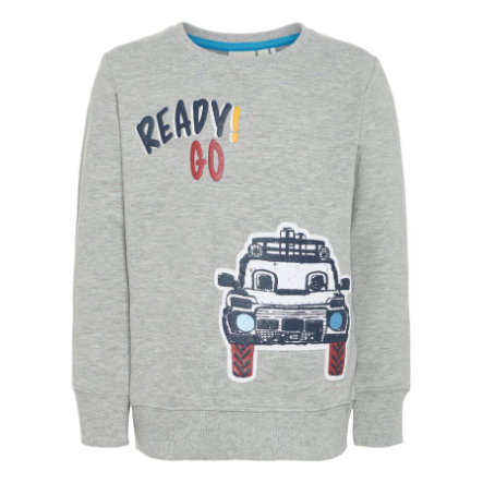 name it Boys Sweatshirt Lars gris mélangé