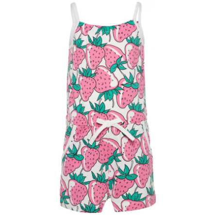 name it Girls Jumpsuit Vigga bright white