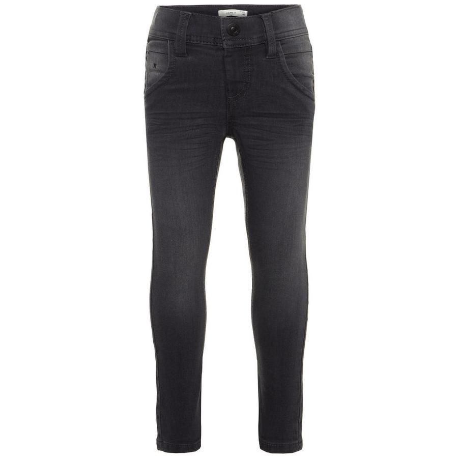 NAME IT poikien Jeans Silas tummanharmaa farkku