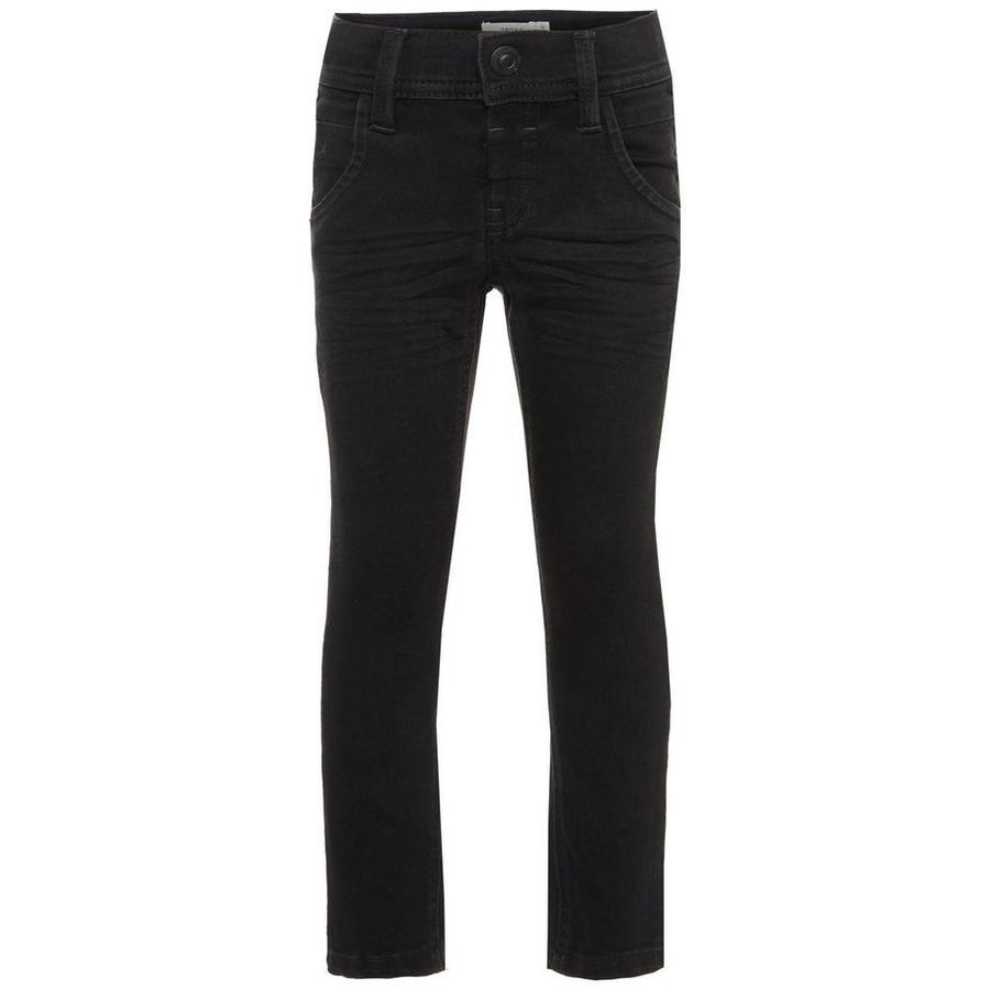 name it Boys Jeans Silas negro