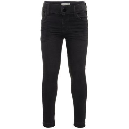 name it Girls Jeans Polly mørk grå denim