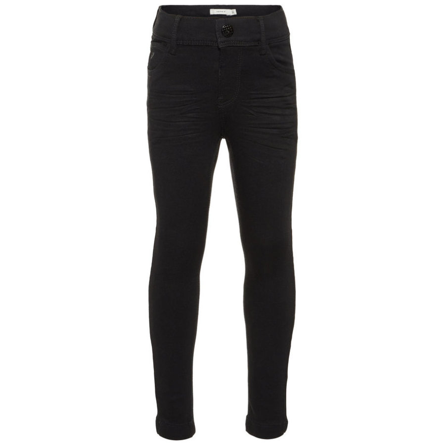name it Girl s Jeans Polly Black Jeans Polly