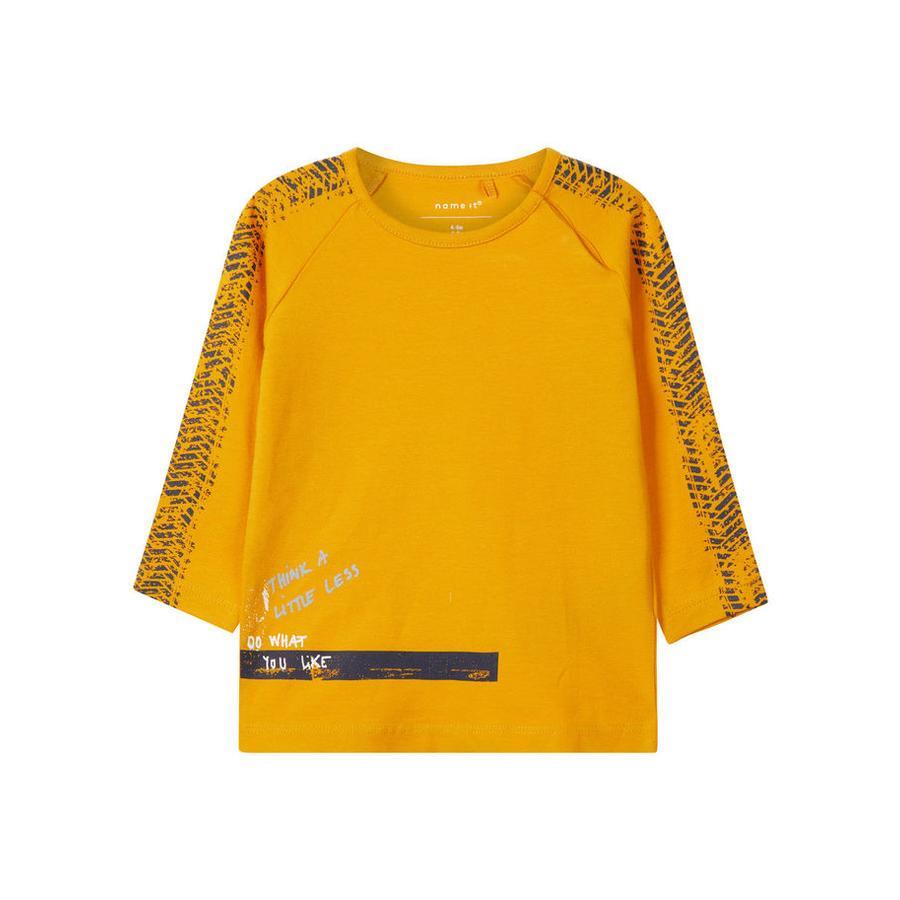 name it Boys Koszula z długim rękawem Lasom sunflower