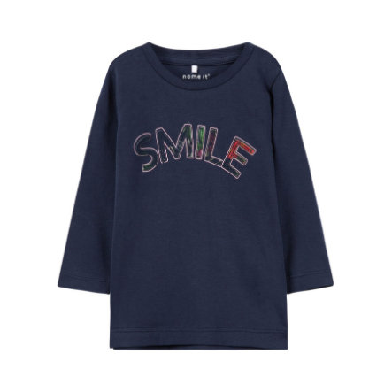 name it Girl s Camisa de manga larga Louise dark sapphire