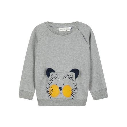 name it Sweatshirt Laust grå melange