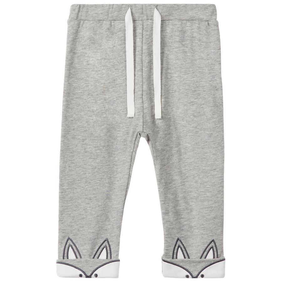 name it Pantalon de survêtement Nurla gris mélangé
