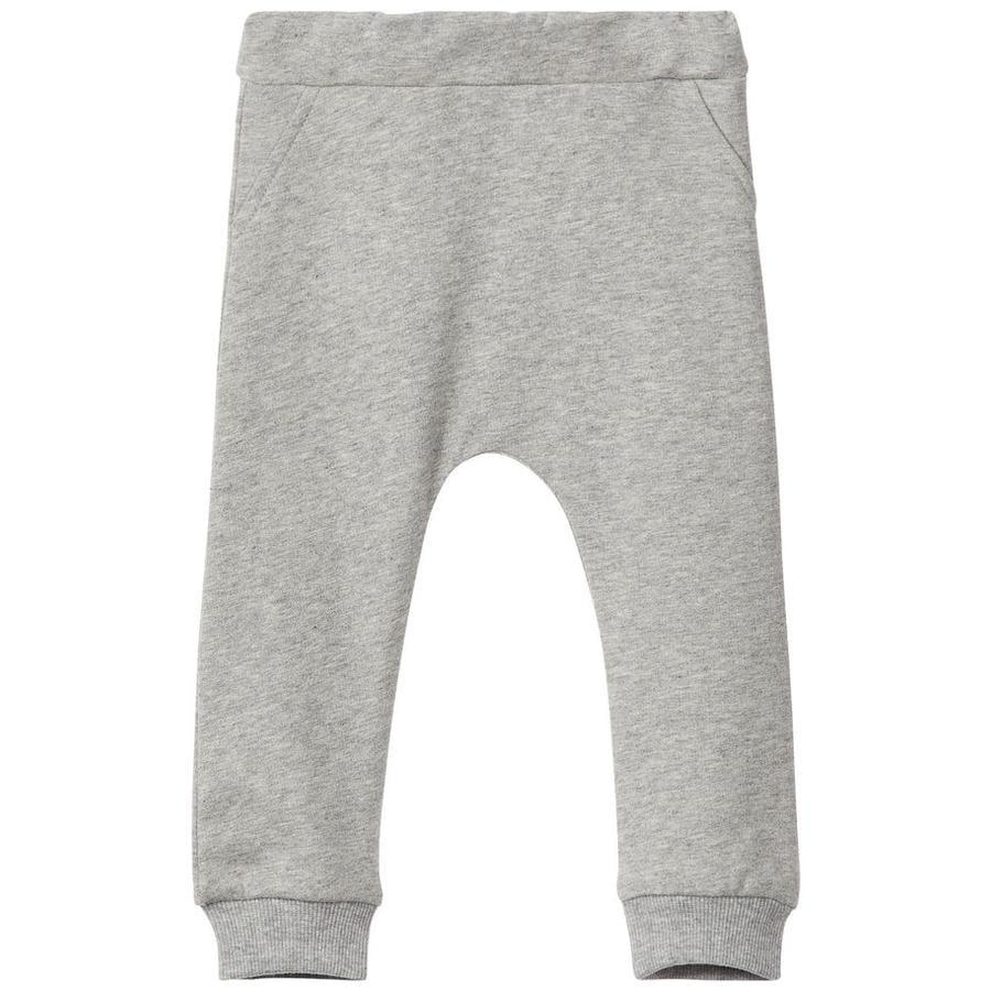 name it Pantalones de chándal Nunnela gris mélange
