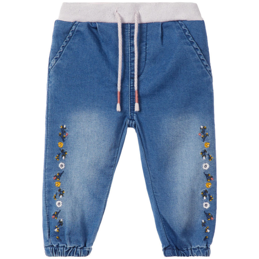 name it Girls Jeans Rie medium blue denim