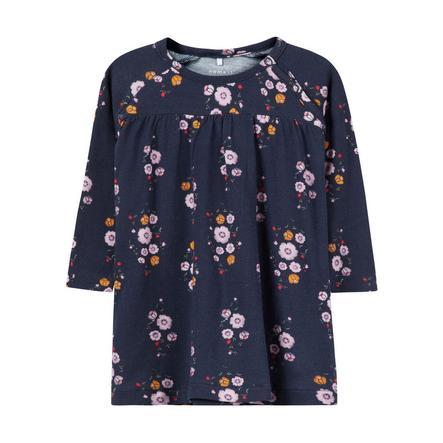 NAME IT tyttöjen Dress Lily tumma safiiri