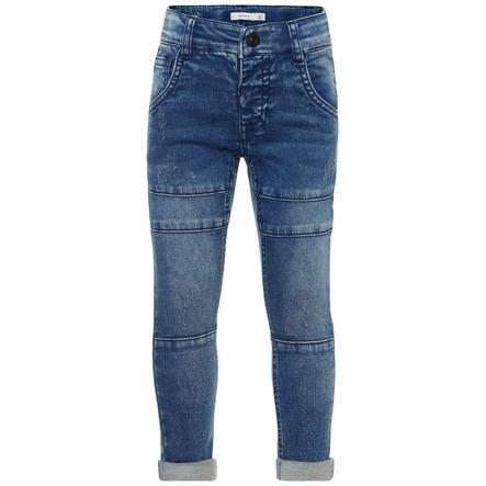 name it Boys Jeans Silas Tubber medium blue denim