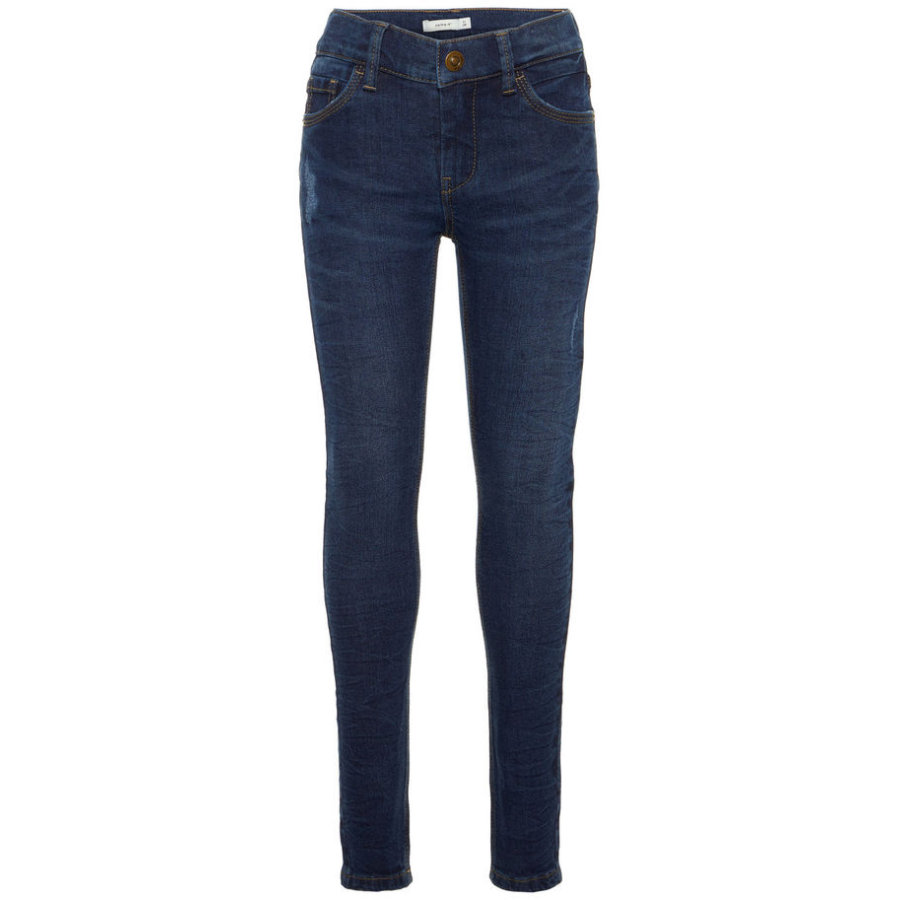 name it Boys Jeans Theo Tance dark blue denim