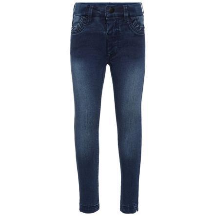 name it Girl s Jeans Bibi Trunte średnio-niebieski denim.