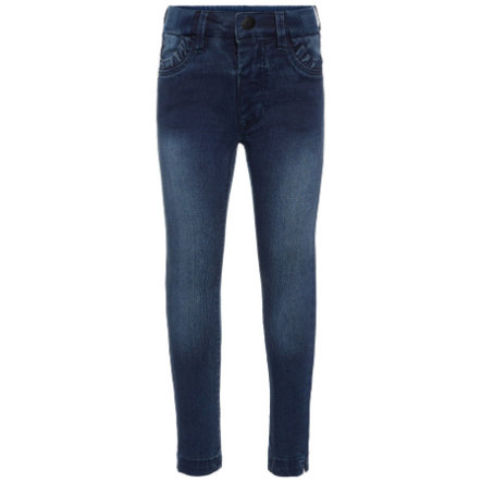 name it Girl s Jeans Bibi Trunte Tejido vaquero azul medio