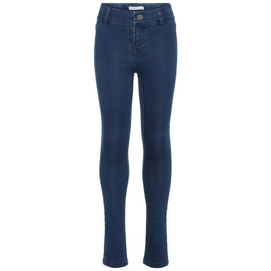 name it Girls Jeans Polly Tera dark blue denim