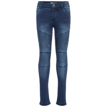 name it Girl dżinsy Polly Teona, ciemnoniebieski denim.