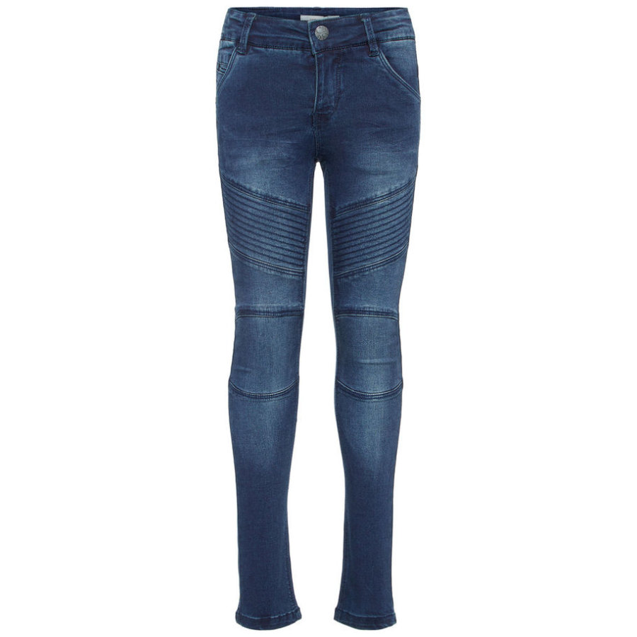 name it Girls Jeans Polly Teona dark blue denim