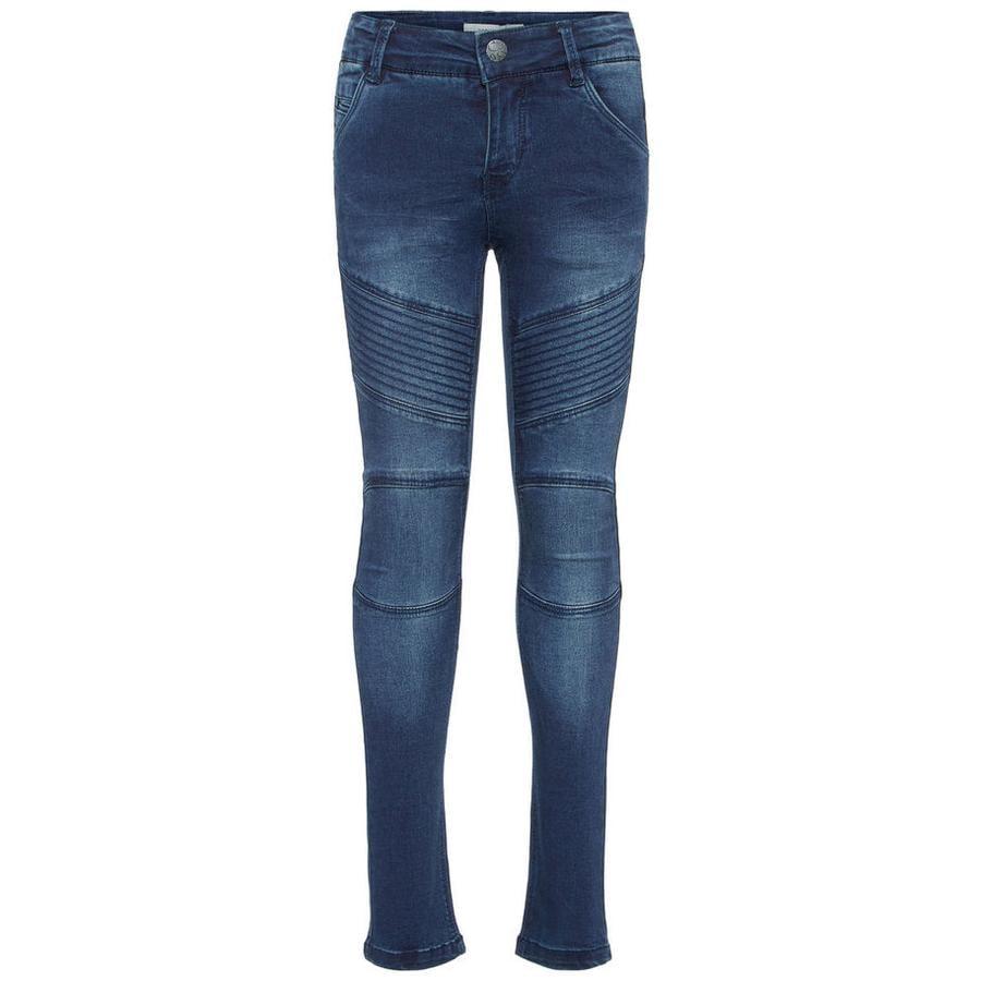 name it Girls Jeans Polly Teona mørkeblå denim