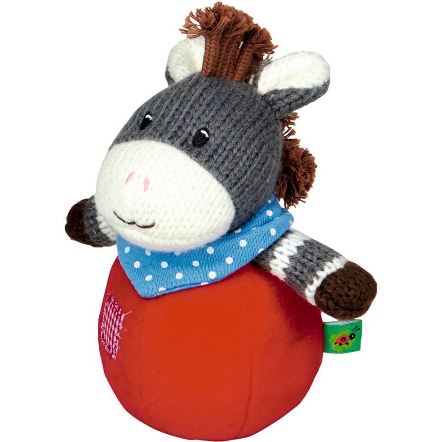 COPPENRATH Steh-auf-Esel mit Glockenspiel BabyGlück