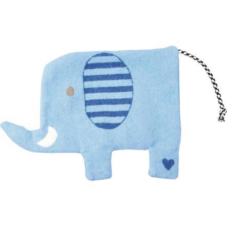 COPPENRATH coussin thermique Elefant Baby chance bleu clair