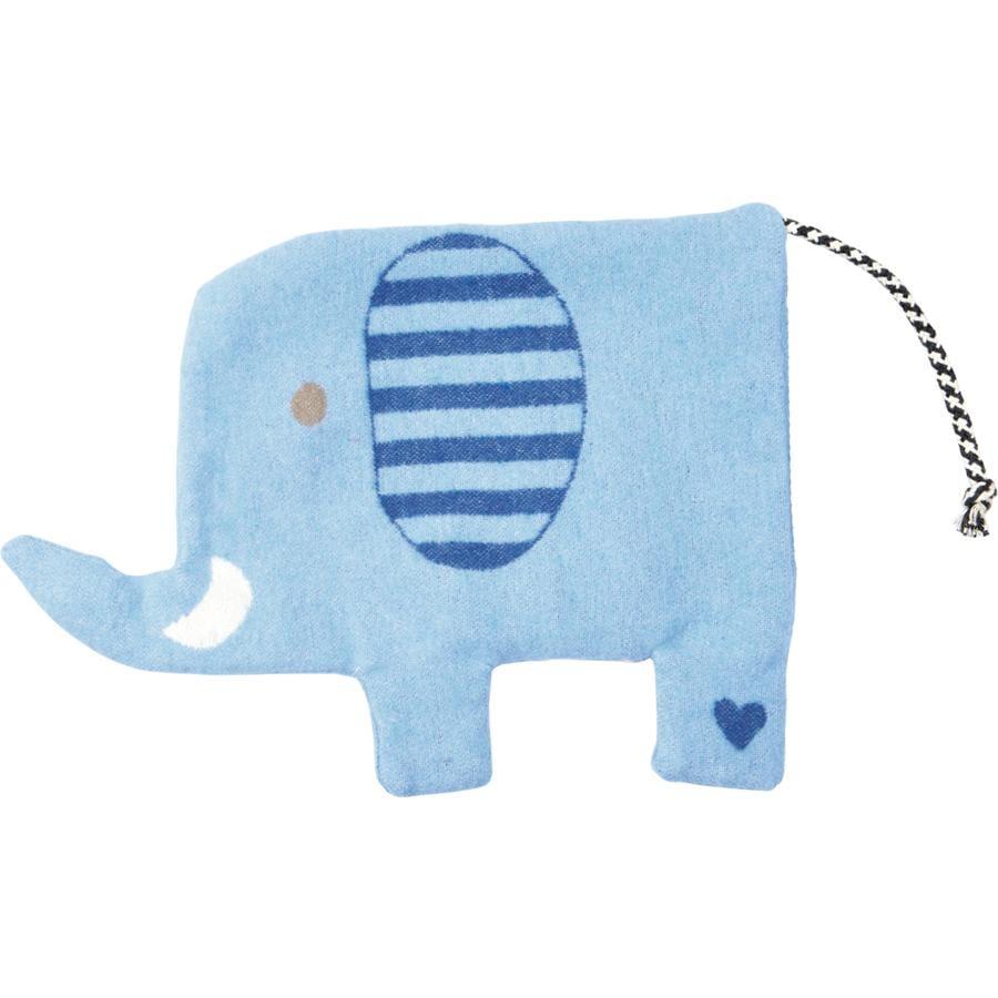 COPPENRATH Oteplovací polštář Elephant BabyLuckiness světle modrá