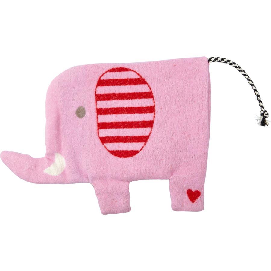 COPPENRATH Oteplovací polštář slon dětské štěstí růžová