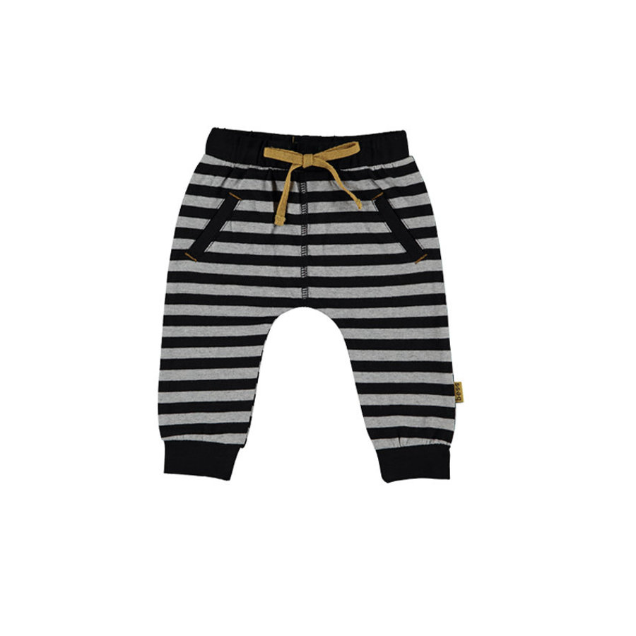 b.e.s.s Babyhose Striped grey