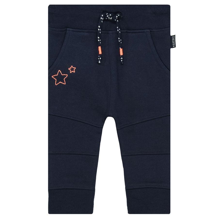 STACCATO Boys pantalon de survêtement bleu foncé