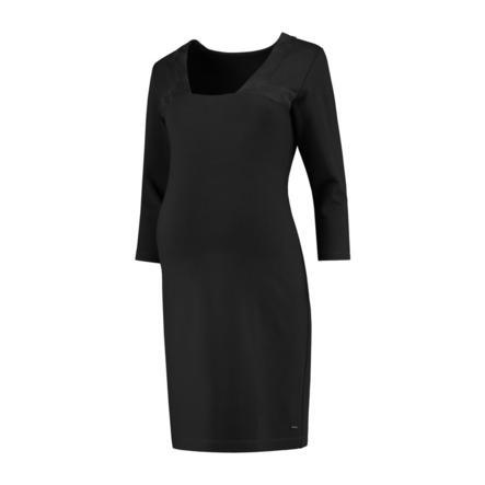 LOVE2WAIT Vestido de embarazada Ponte di Roma Suede negro