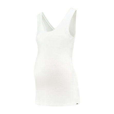 LOVE2WAIT Haut de grossesse Tencel White