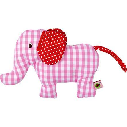 COPPENRATH Elefante sonajero, rosa Bebé Feliz