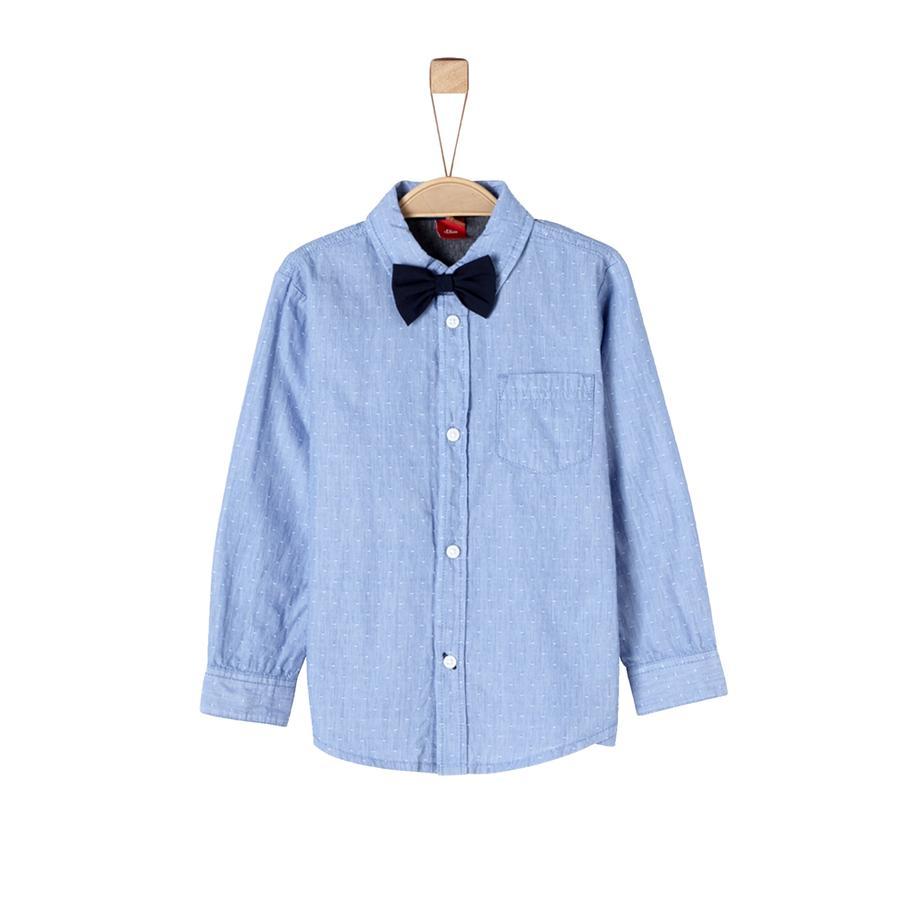 s.Oliver Boys Hemd blue