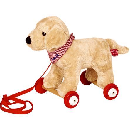 COPPENRATH Labrador Luzie auf Holzrollen - Lustige Tierparade