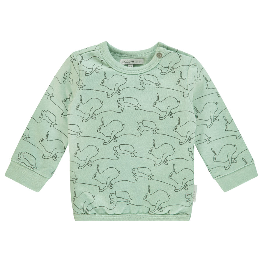 noppies Sweatshirt Tavares grey mint