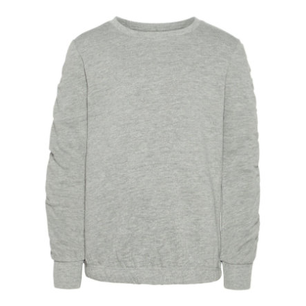 name it Boys Sweatshirt Nmfmari grey melange