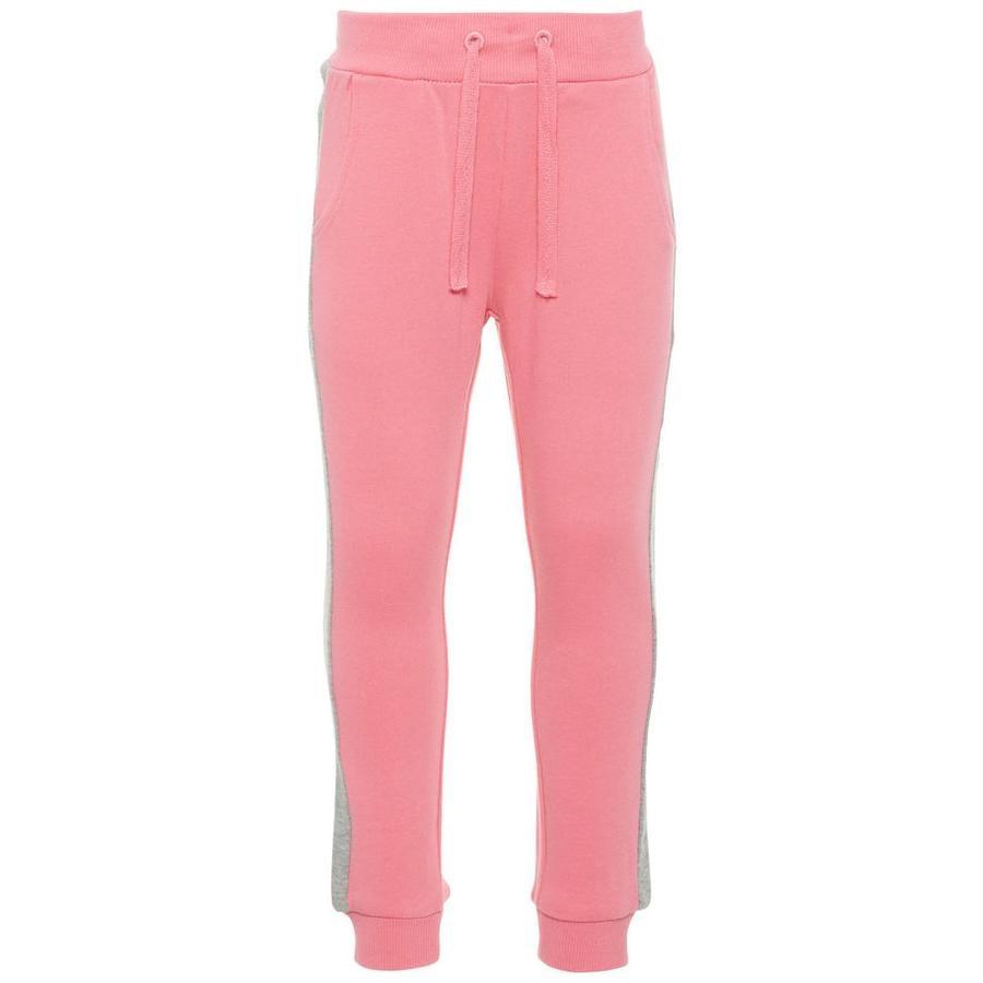 name it Girl s Pantalones de chándal Mari bubblegum