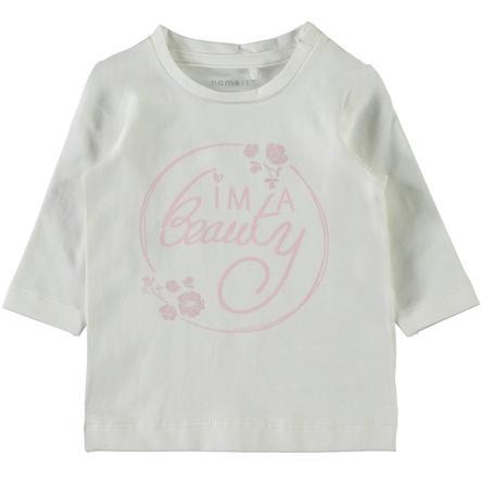 name it Girl s shirt met lange mouwen Luna sneeuwwitte Luna