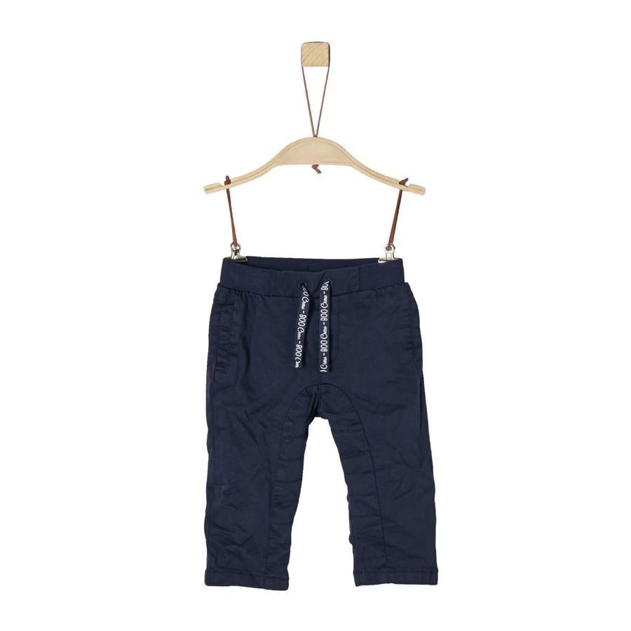 s.Oliver Boys Pantalon bleu foncé
