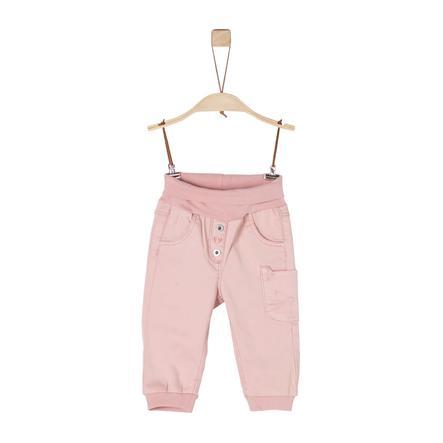 s.Oliver Girls Hose dusty pink