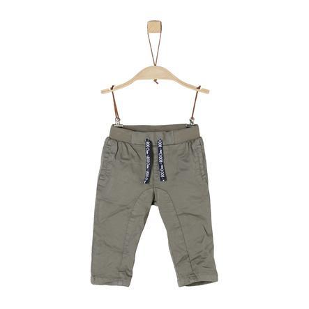 s.Oliver Boys Pantaloni grigio scuro