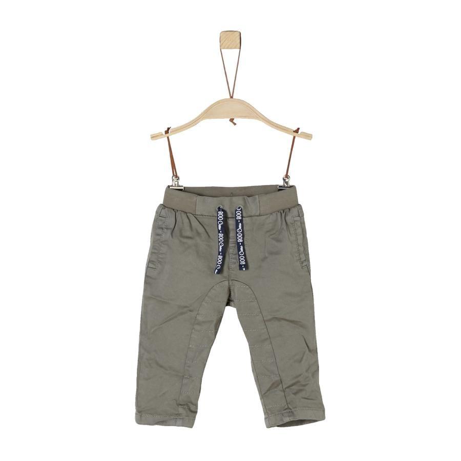 s.Oliver Boys Pantalón gris oscuro
