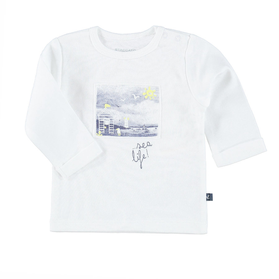 STACCATO Boys Chemise manches longues blanc chaud