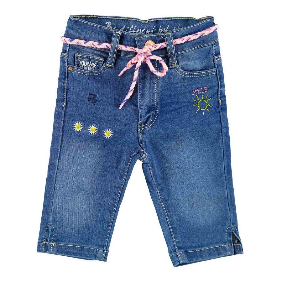 STACCATO Girls skinny Caprijeans blau
