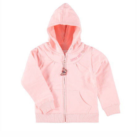 STACCATO Girls Kapuzen-Sweatjacke blush