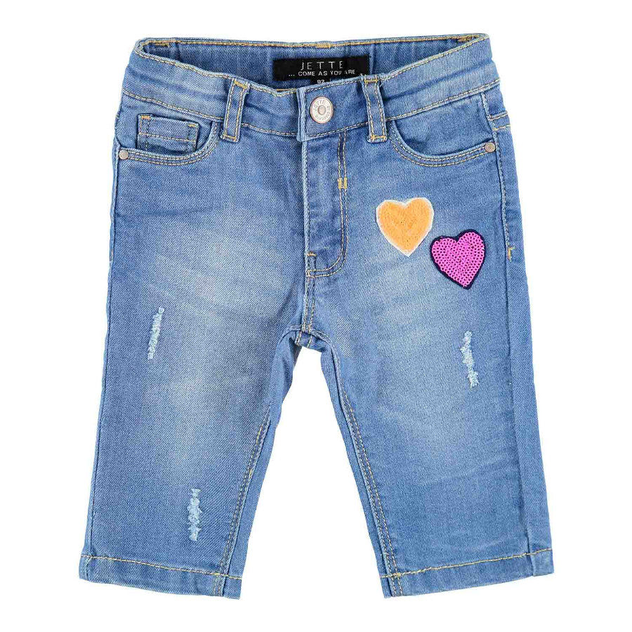 JETTE by STACCATO  Girls Caprijeans mager blauw