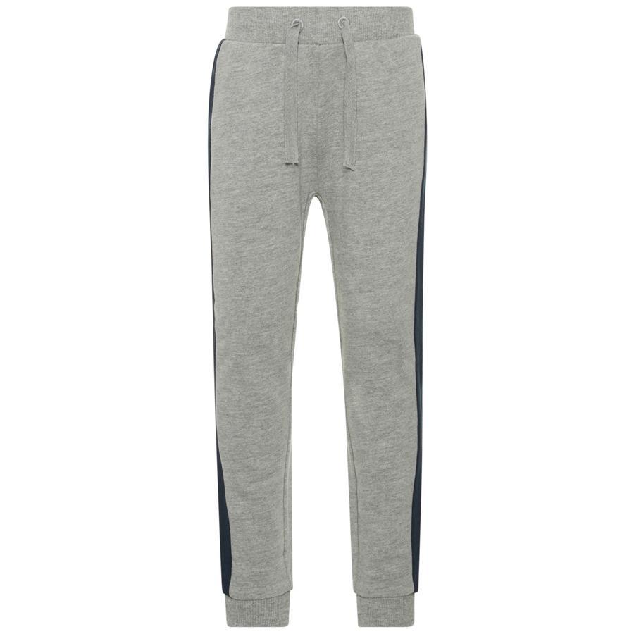 name it Boys Pantalones de chándal Nmmesa gris mélange