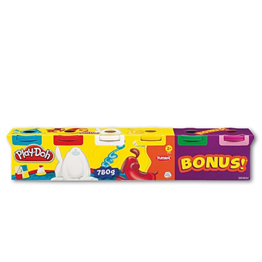 PLAY DOH Plastelina 6 podstawowych kolorów 130g
